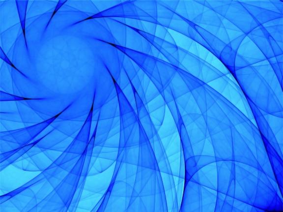 blue spiral illustration