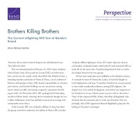 Cover: Brothers Killing Brothers