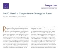 Cover: NATO Needs a Comprehensive Strategy for Russia