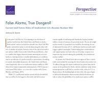 الإنذارات الكاذبة، أخطار حقيقية؟ مخاطر الحرب النووية الأمريكية الروسية غير المتعمدة في الحاضر والمستقبل