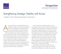 Strengthening Strategic Stability with Russia
