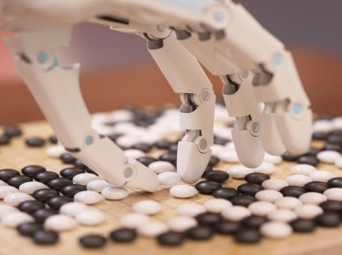 Artificial intelligence playing Go