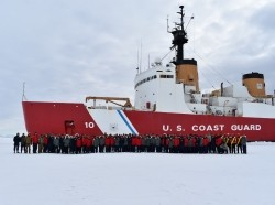 The Polar Star is one of two existing U.S. Coast Guard icebreakers capable of operating in heavy polar ice, photo by U.S. Coast Guard