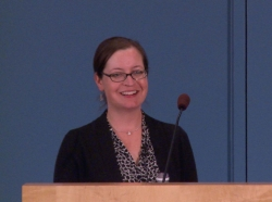 Patricia Boyle presenting at the 2014 RAND Summer Institute
