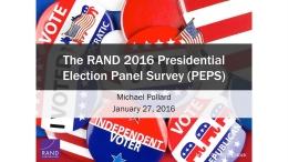 2016 Presidential Election Panel Survey