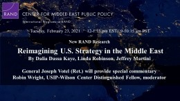Reimagining U.S. Strategy in the Middle East