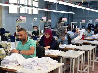 Workers in a textile factory in Igdir, Turkey, May 20, 2017
