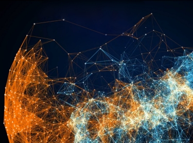 An information network graph