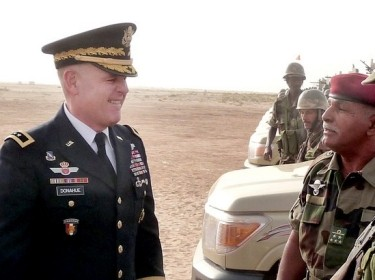 USARAF commander meets with Mauritanian senior leaders