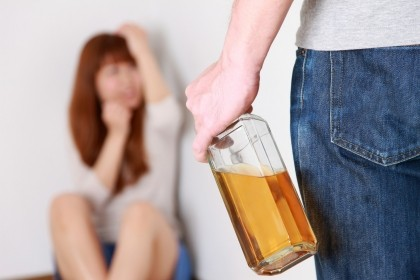 Alcohol and implied domestic violence