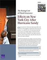 Cover: The Rising Cost of Flood Insurance in New York City