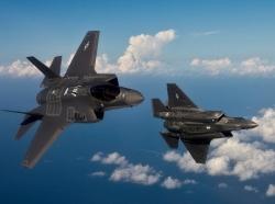 F35s Diverging