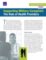 Cover: Supporting Military Caregivers
