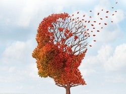 losing brain function, tree with leaves falling