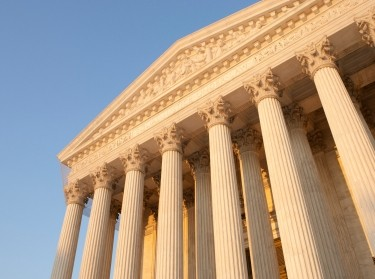 Supreme Court pillars