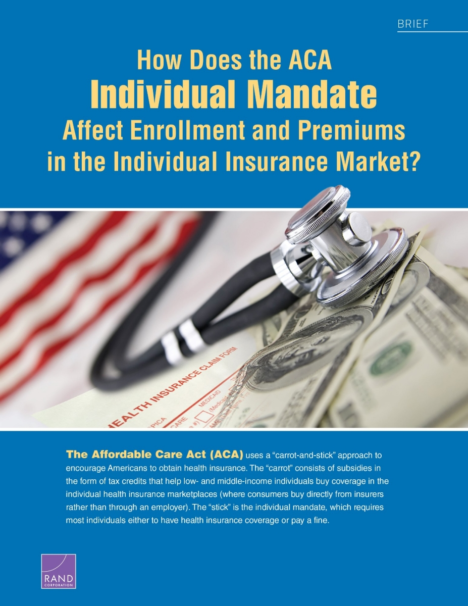 How Does the ACA Individual Mandate Affect Enrollment and