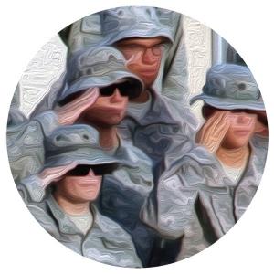 Saluting U.S. Soldiers