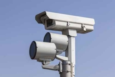 camera, traffic, surveillance, red, safety, light, flash, monitoring, monitor, cctv, secure, transportation, security, technology, speed, red light, electronic, ticket, law, violation, stop, road, danger, enforcement, speed trap, outdoor, nobody, law enforcement, red light camera, object