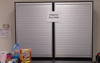 Hidden tobacco product power wall