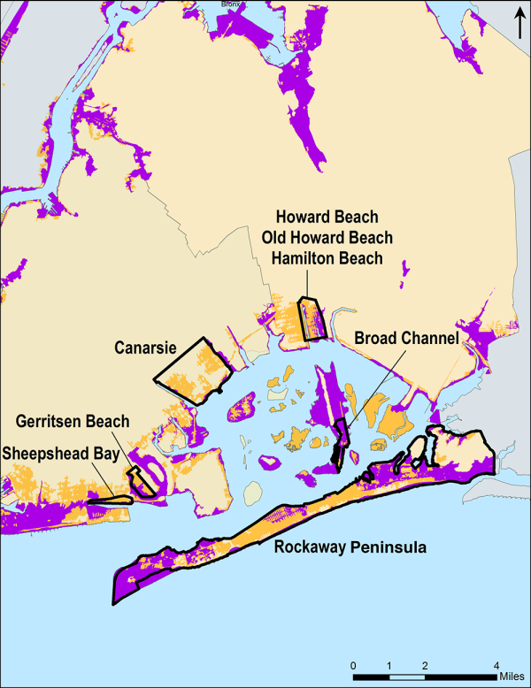 Figure 2. Communities Studied in Brooklyn and Queens