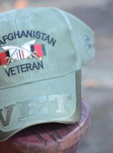 A veteran's hat