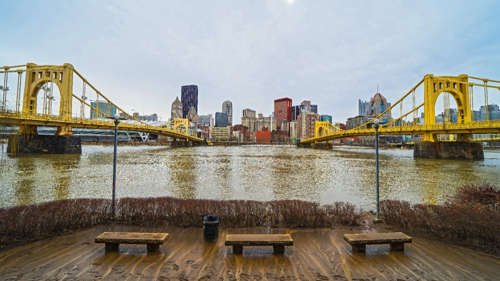 Flooding in Pittsburgh,  photo by Artem S/Getty Images