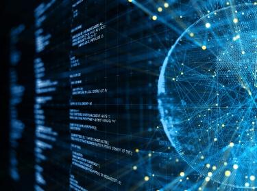 Digital network communication concept