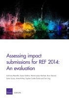 Cover: Assessing impact submissions for REF2014