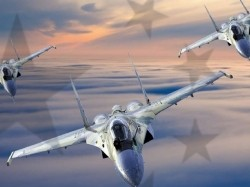 "Cover of RAND report RR1051: Three ""Flanker"" Aircraft"