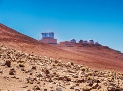 The U.S. Air Force's Maui Optical and Supercomputing Site at the summit of Haleakala on the Hawaiian island of Maui