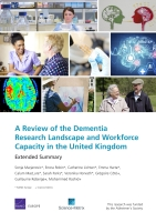 Cover: A Review of the Dementia Research Landscape and Workforce Capacity in the United Kingdom