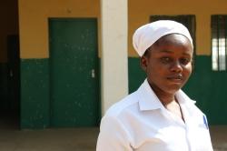 Nigerian midwife