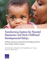 Cover: Transforming Systems for Parental Depression and Early Childhood Developmental Delays