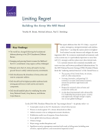 Cover: Limiting Regret