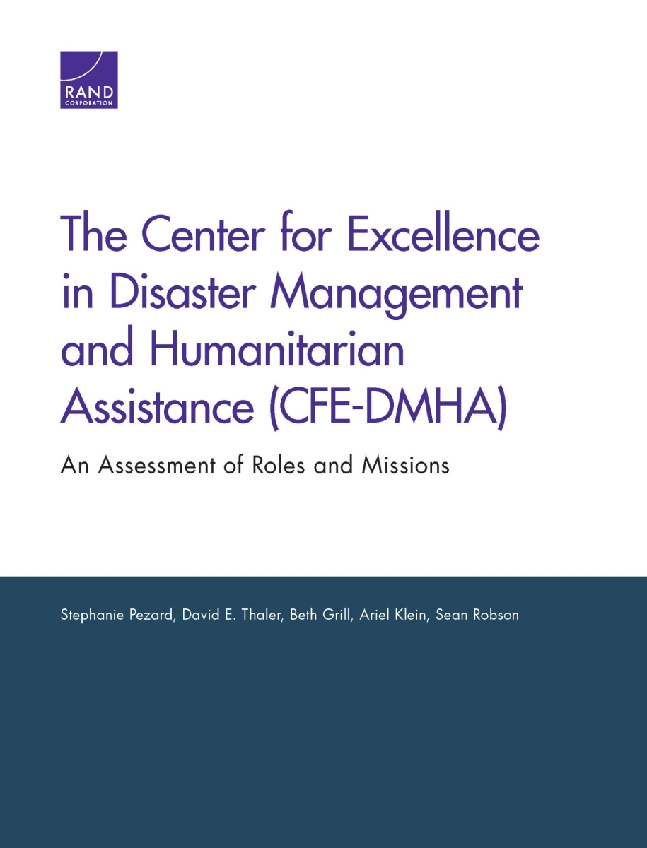 The Center for Excellence in Disaster Management and