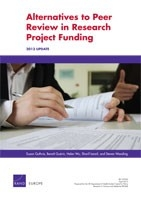 Cover: Alternatives to Peer Review in Research Project Funding