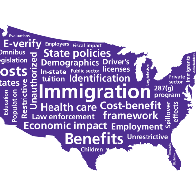 United States immigration map