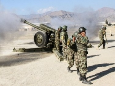 Afghan artillerymen certified and ready to lead