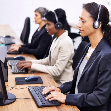 Hotline call center