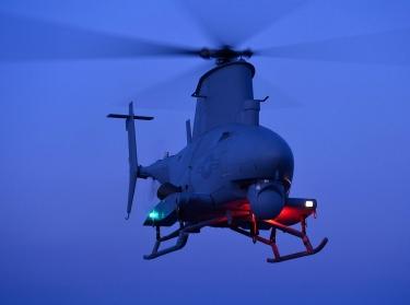 An MQ-8B Fire Scout in flight