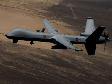 A U.S. Air Force remotely piloted aircraft