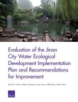 济南市水生态文明建设试点实施方案评估及改善建议