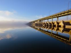 Chickamauga Lock and Dam, near Chattanooga, Tennessee