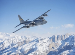 Alaska Air Guardsmen bid farewell to last C-130 Hercules aircraft, March 4, 2017