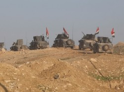 Iraqi forces advance against Islamic State militants in western Mosul, Iraq, March 6, 2017