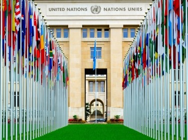 Headquarters of the United Nations in Geneva, Switzerland