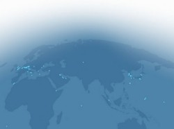 world map showing U.S. overseas bases
