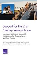 Cover: Support for the 21st-Century Reserve Force