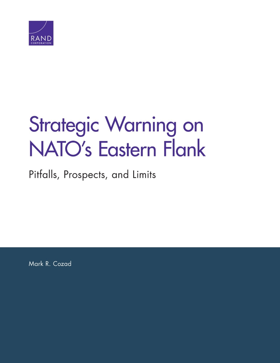 Bildergebnis für Strategic Warning on NATO's Eastern Flank