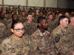 New Army recruits